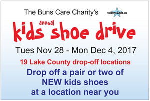 Buns Care - Annual Kids Shoe Drive